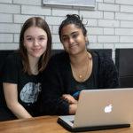 Noreen Mughal und Lina Goldner